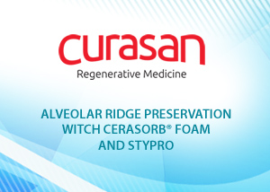 Alveolar ridge preservation with CERASORB Foam and stypro -  Dr. Frank Palm